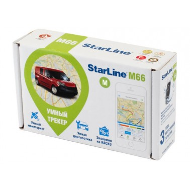 Умный компактный GPS/GSM трекер StarLine M66-M для эффективной защиты авто от угона