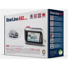 Автосигнализация StarLine A93 2can+lin GSM ECO Slave