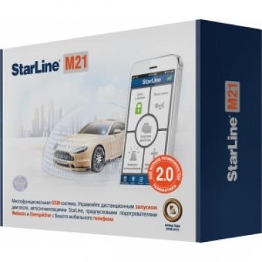 StarLine M21 - охранно-телематический модуль нового поколения для управления охранным комплексом  в телефонном режиме.