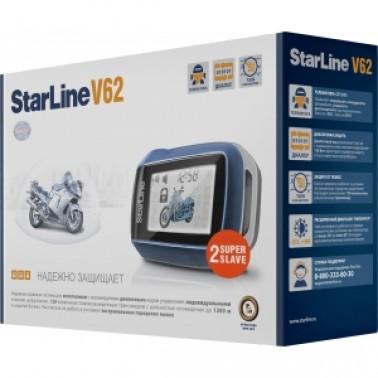 Мотосигнализация Starline Twage Moto V62 - доступный и надежный способ обезопасить ваш мотоцикл.