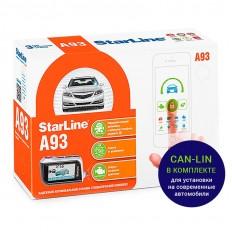 Автосигнализация StarLine Е93 2can+lin
