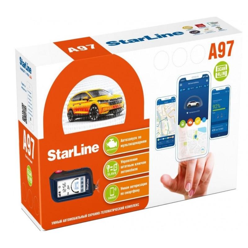 Сигнализация StarLine A97 BT 3CAN+4LIN с Автозапуском