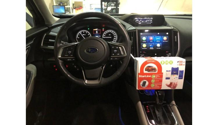 Как защитить Subaru Forester, Оutback (Субару Форестер) от Угона?