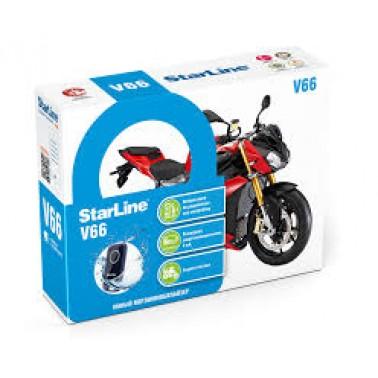 Надежный мотоиммобилайзер StarLine Moto V66 для защиты от угона