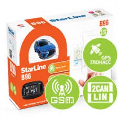 Купить автосигнализацию StarLine В96 2CAN-2LIN GSM/GPS