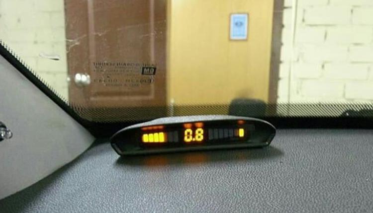 Установка парктроников и парковочных радаров на автомобиль в Киеве