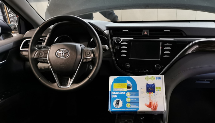 Как защитить Toyota Camry от угона в Киеве?
