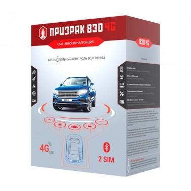 Автомобильная GSM сигнализация Prizrak 830 BT 4G