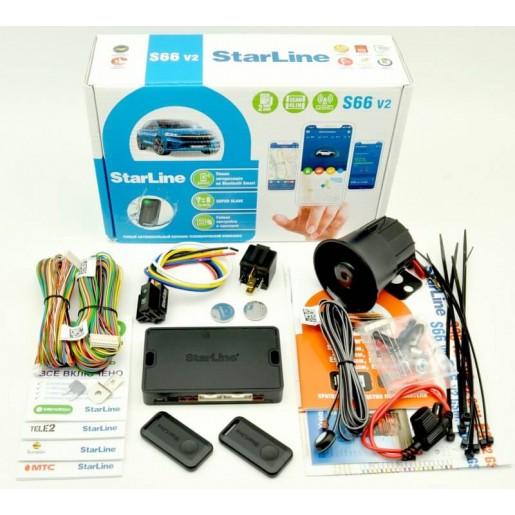 Сигнализация StarLine S66 V2 BT 2CAN+4LIN GSM
